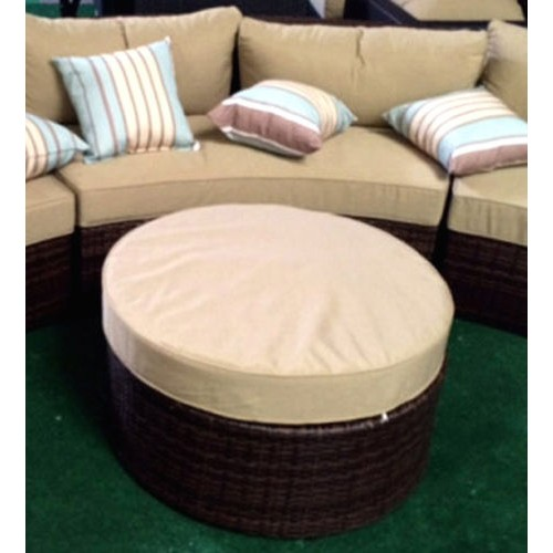 outdoor sofa 6pcs sectional wicker brown las vegas patio furniture and garden